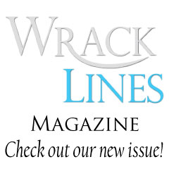 Wrack Lines magazine logo - check out our new issue