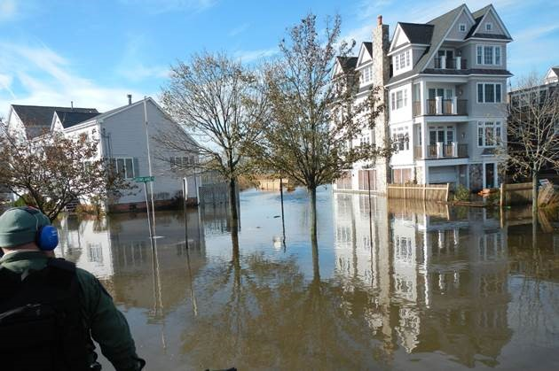 Fairfield Beach Road was one of many streets flooded by Superstorm Sandy.