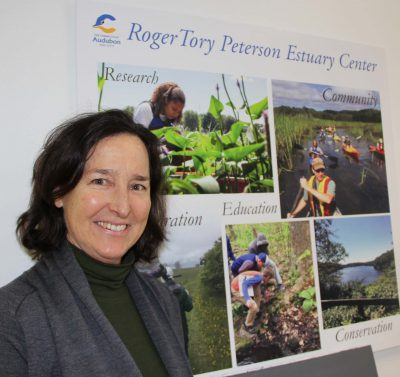 Eleanor Robinson is director of the Roger Tory Peterson Estuary Center in Old Lyme. Judy Benson / Connecticut Sea Grant