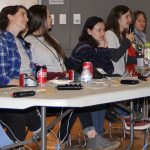 A panel of graduate students from URI and UConn offered college advice and answered questions from Quahog Bowl participants.
