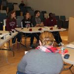 The Canton High team competed against Plainville High in the first round.