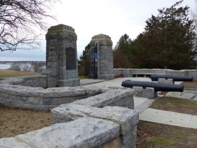 Fort Griswold Battlefield State Park in Groton is the site of one of the Thames River Quest hikes on June 2. Photo: Thames River Heritage Park