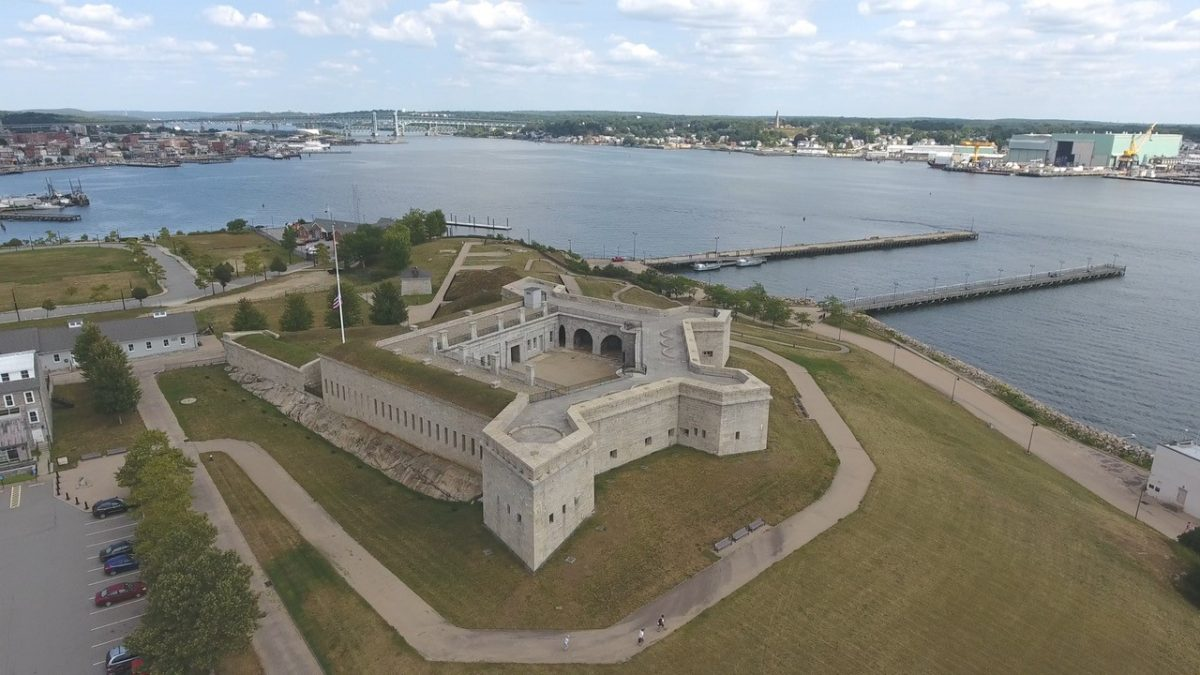 Fort Trumbull State Park in New London is the site of one of the Thames River Quest hikes on June 2. Photo: Thames River Heritage Park