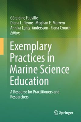"""Exemplary Practices in Marine Sciences Education"" book cover"