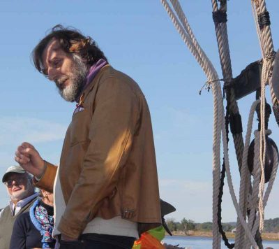 Wesleyan University Prof. Johan Varekamp talks about his research on mercury in Long Island Sound, sea level rise and the history of Dutch explorer Adriaen Block's voyage into the Sound and the Connecticut River.