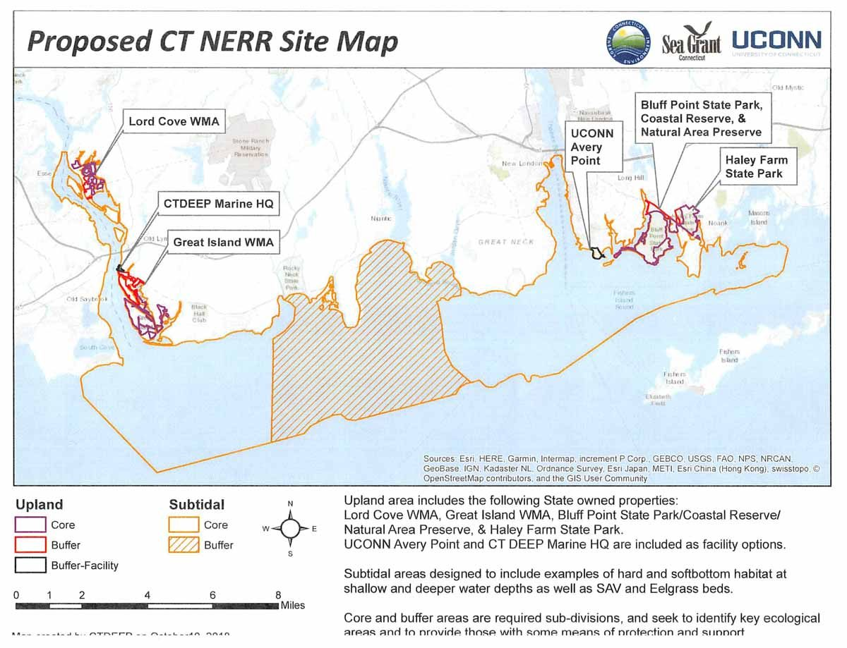 Proposed CT NERR Site Map