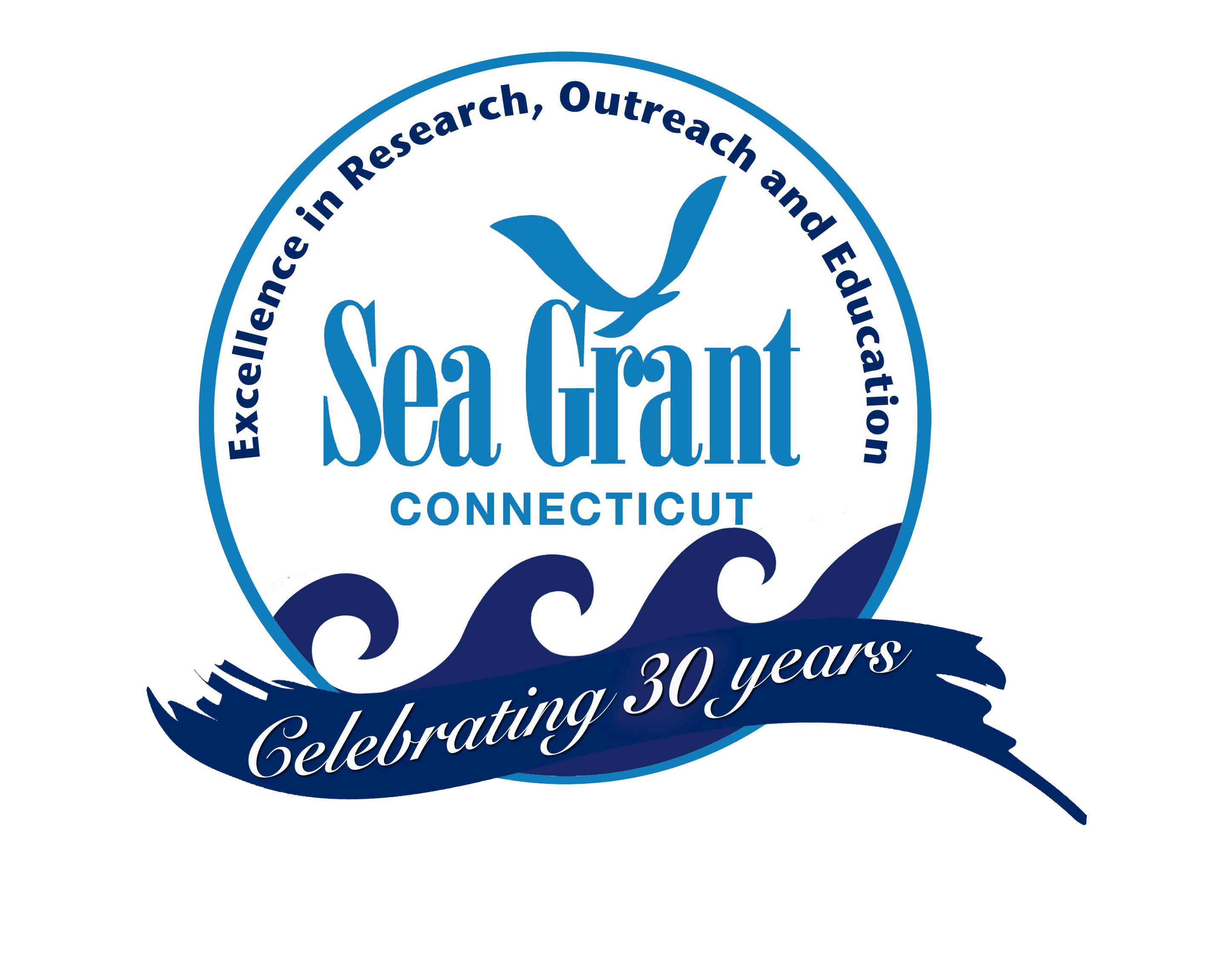 Connecticut Sea Grant 30th Anniversary logo