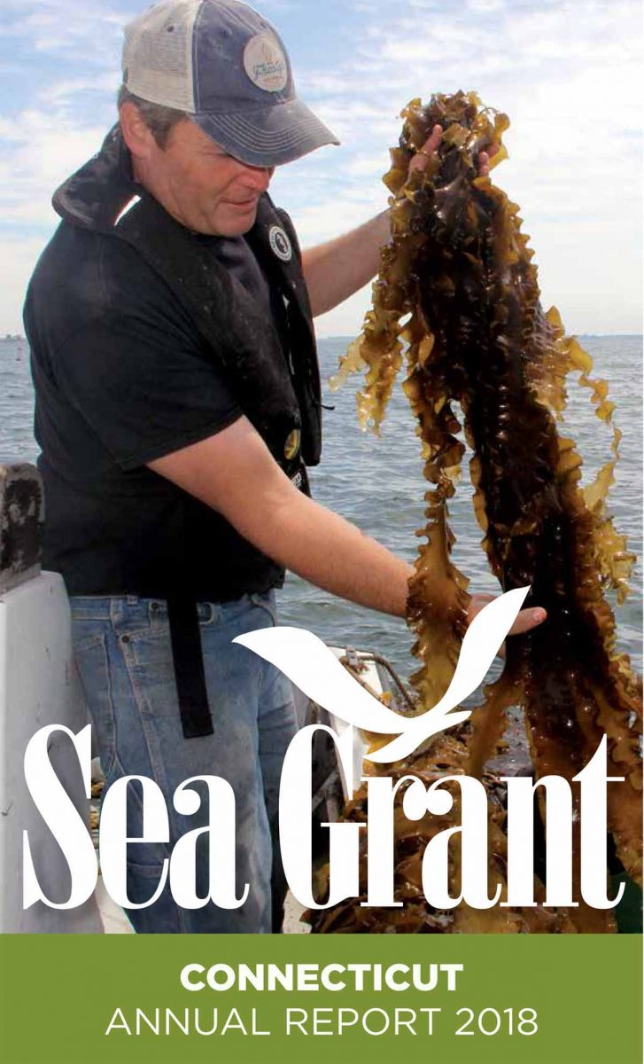 Cover of Connecticut Sea Grant 2018 Annual Report summary