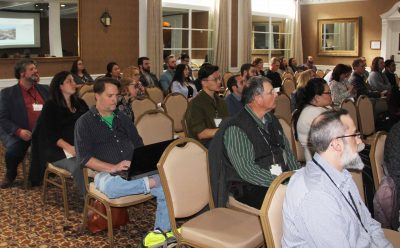More than 125 researchers, students and others attended the daylong conference.