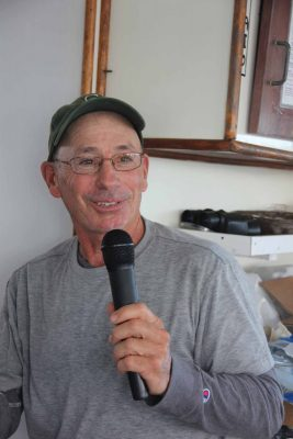 Steve Plant, owner of Connecticut Cultured Oysters, was one of the 10 speakers, talking about his Mystic shellfish farm.