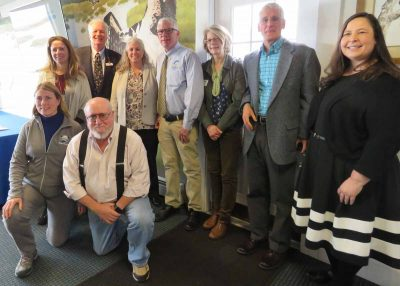 Group photo of authors who contributed to the 2019 Connecticut State of the Birds report.