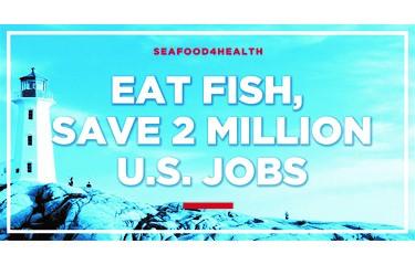 Eat Fish, Save 2 Million U.S. Jobs logo