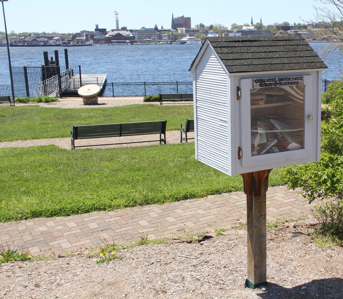The Fort Griswold and Hidden Thames Street Quests both begin at Thames River Landing Park on Thames Street in Groton.