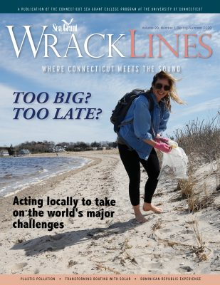 Cover of Spring-Summer 2020 issue of Wrack Lines magazine