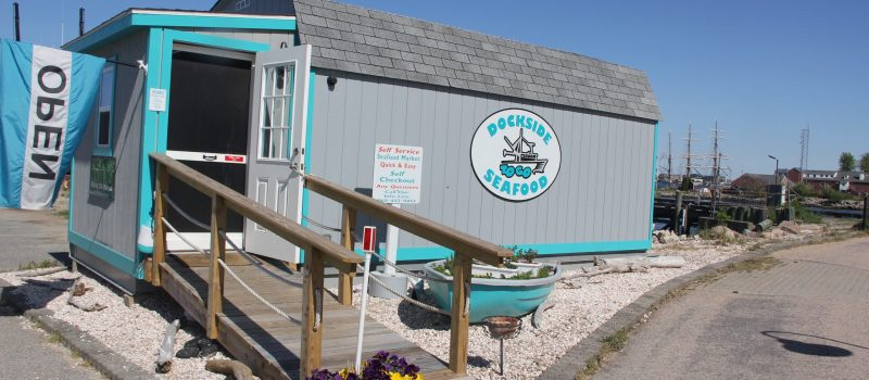 Dockside Seafood self-service market opened in New London has seen a significant increase in business during the COVID-19 pandemic.