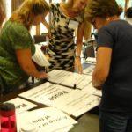 Teachers at an environmental education workshop