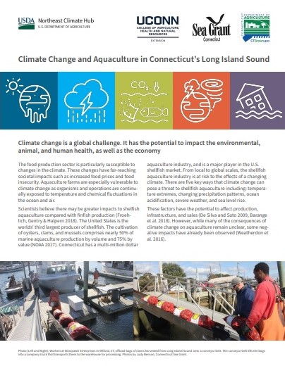 "Page 1 of ""Climate Change and Aquaculture in Connecticut's Long Island Sound"""