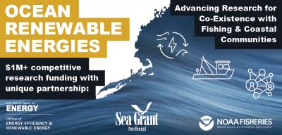 Graphic for Ocean Renewable Energies research initiative