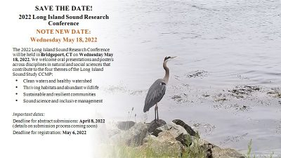 Flier for 2022 Long Island Sound Research Conference