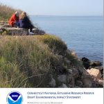 Cover of Draft Environmental Impact Statement for proposed Connecticut National Esturarine Research Reserve